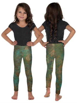 Rusty Copper Leggings for Kids