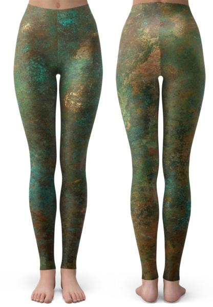 Rusty Copper Leggings / Youth Size