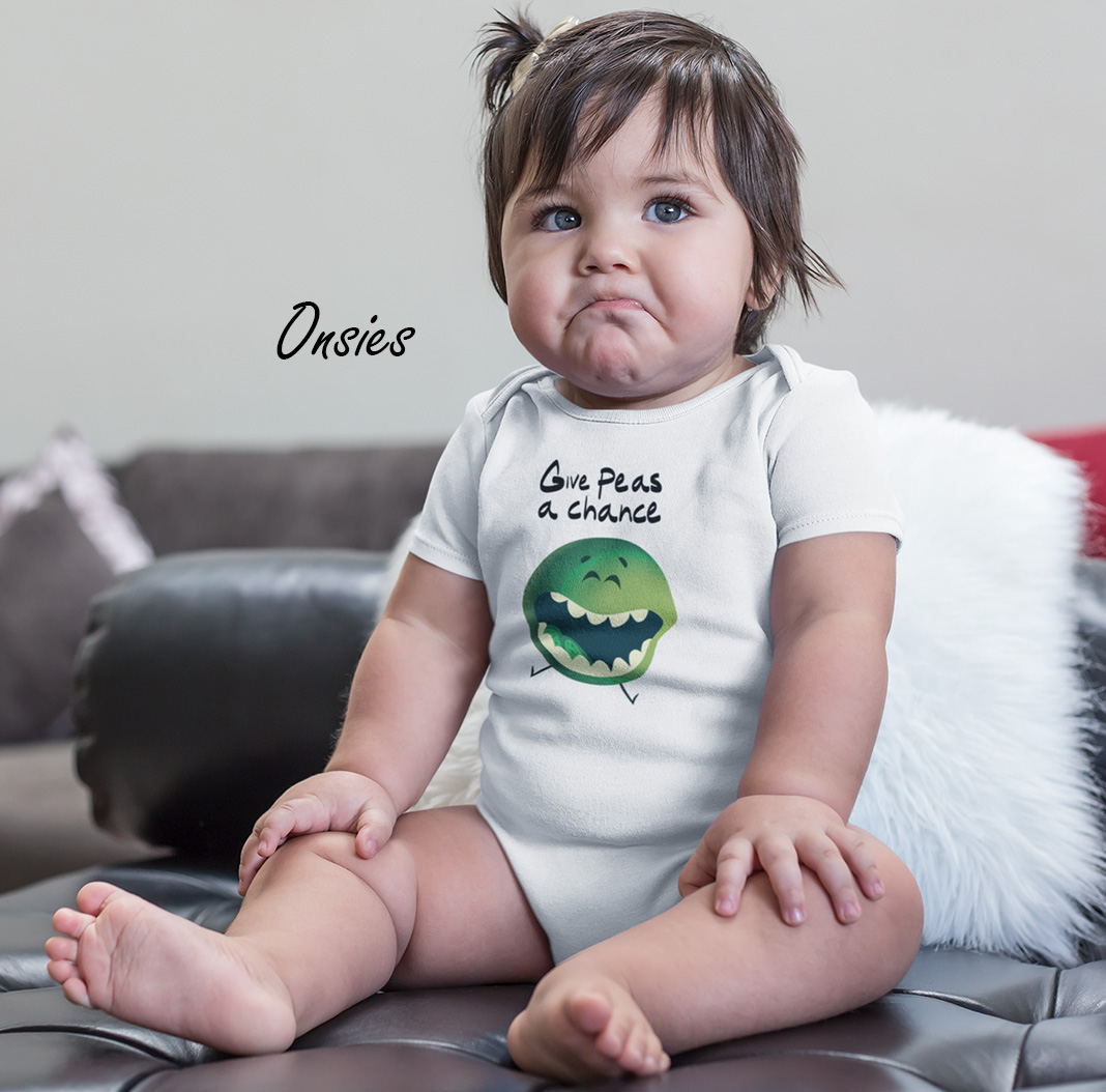 baby onsies by squeakychimp