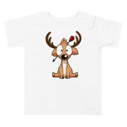 Dead Deer Hunter Toddler Short Sleeve Tee