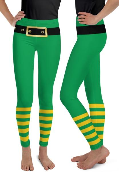 St Patrick's Day Leprechaun Pants Green Leggings for teenages