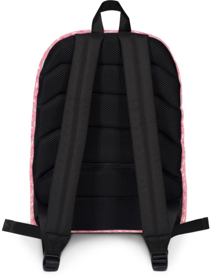 Back to school book bags rug-sack Donut Eater Beaver Backpack with Laptop Sleeve