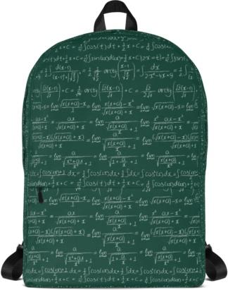 Trigonometry Formulas & Integrals Math Backpack with Laptop Sleeve