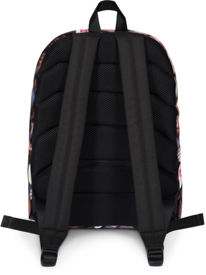 Back to school book bags rug-sack Chocolate Backpack with Laptop Sleeve