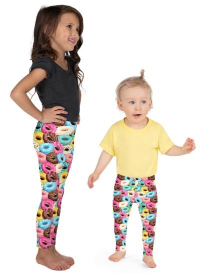 Sweet Tooth Donut Leggings for Kids