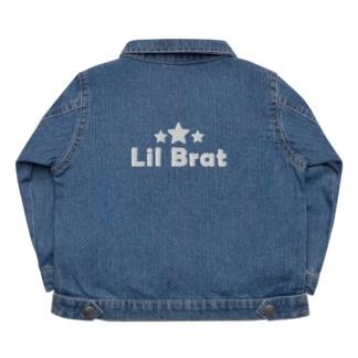 Little Brat Baby Organic Blue Jean Denim Jacket