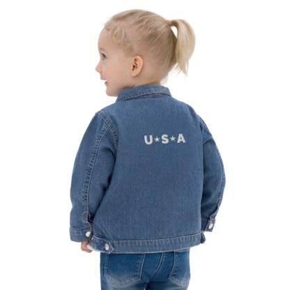 USA Organic Blue Jean Denim Jacket / Infants & Toddlers