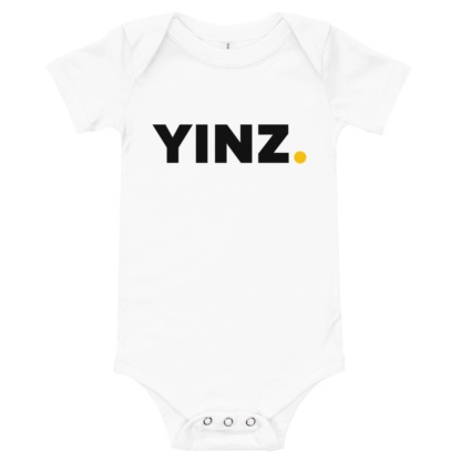 Pittsburgh Baby Yinz Onesie / Short Sleeve