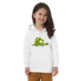Crocodile alligator Eco Hoodie for Kids