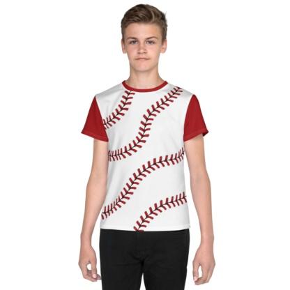 Kids Baseball T-shirt / Short Sleeve