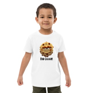 Bad Cookie T-shirt For Kids / Short Sleeve