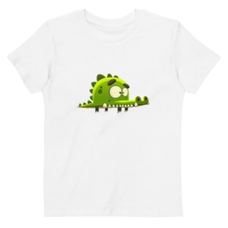 Crocodile T-Shirt For Babies / Short Sleeve