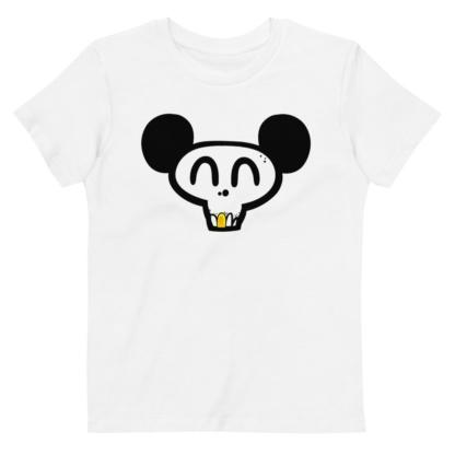 Skull Face Mickey T-shirt For Kids / Short Sleeve