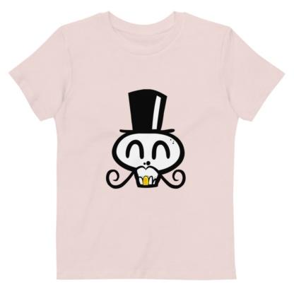 Skull Face T-shirt For Kids / Short Sleeve