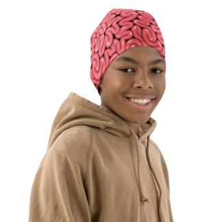 Brains Beanie Halloween Hat For Kids