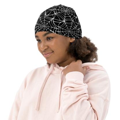 Halloween Spiders Spider Web Winter Hat Beanie For Kids