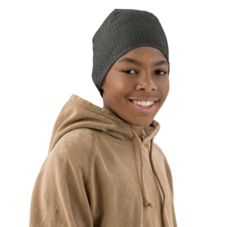 Metal Chainmail Beanie Hat for Kids